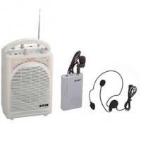 Громкоговоритель с радио микрофоном 35-55 Вт с USB на АКБ
