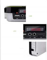 Громкоговоритель с плеером РМ-50 поясной c USB