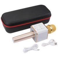 Беспроводной караоке микрофон со встроенной колонкой и Bluetooth Q7