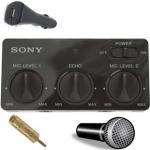 Адаптер SONY для микрофона в автобус + микрофон