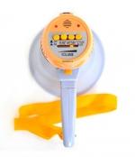 Мегафон рупорный на АКБ и батарейках.С записью голоса.длина 22 см. АКБ в комплекте