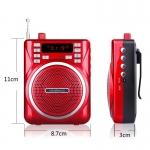 мегафон поясной SPEAKER - 30 Вт с USB и радио