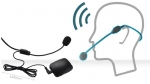 FM-микрофон-гарнитура,петлица на АКБ.